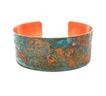 Tiffany Green Copper Cuff