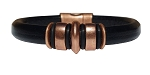 Women's Copper Jupiter Leather Bracelet