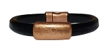 Women's Copper North Leather Bracelet