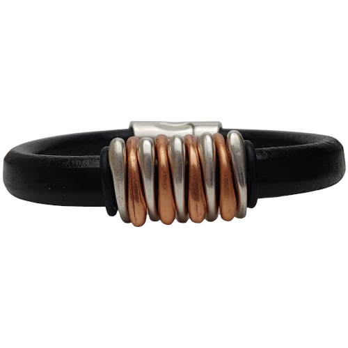 Women's Dyad Leather Bracelet