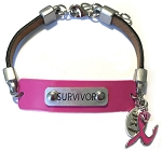 Women's Survivor Leather Bracelet