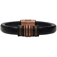Women's Copper Renegade Leather Bracelet