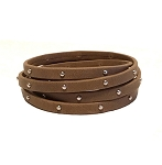 Women's Journey 5-Wrap Studded Leather Bracelet