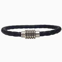 Women's Vintage Braided Leather Bracelet in Multiple Leather Colors