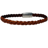 Women's Accent Braided Leather Bracelet in Multiple Leather Colors