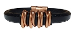 Men's Copper Space Leather Bracelet