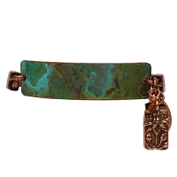 Women's Thalia Tiffany Green Copper Bracelet
