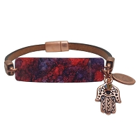 Women's Thalia Crimson Copper Bracelet