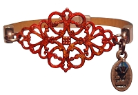 Women's Victoria Sunset Brown Leather Bracelet