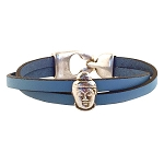 Women's Buddha Leather Bracelet in Multiple Leather Colors