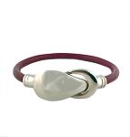 Women's Reflections Leather Bracelet in Multiple Leather Colors
