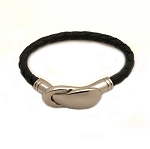 Women's Illusion Braided Leather Bracelet in Multiple Leather Colors